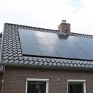 nieuwbouwproject eelde voorzien van zonnepanelen