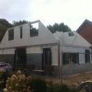 Opbouw nieuwbouwwoning Zuidlaren 2